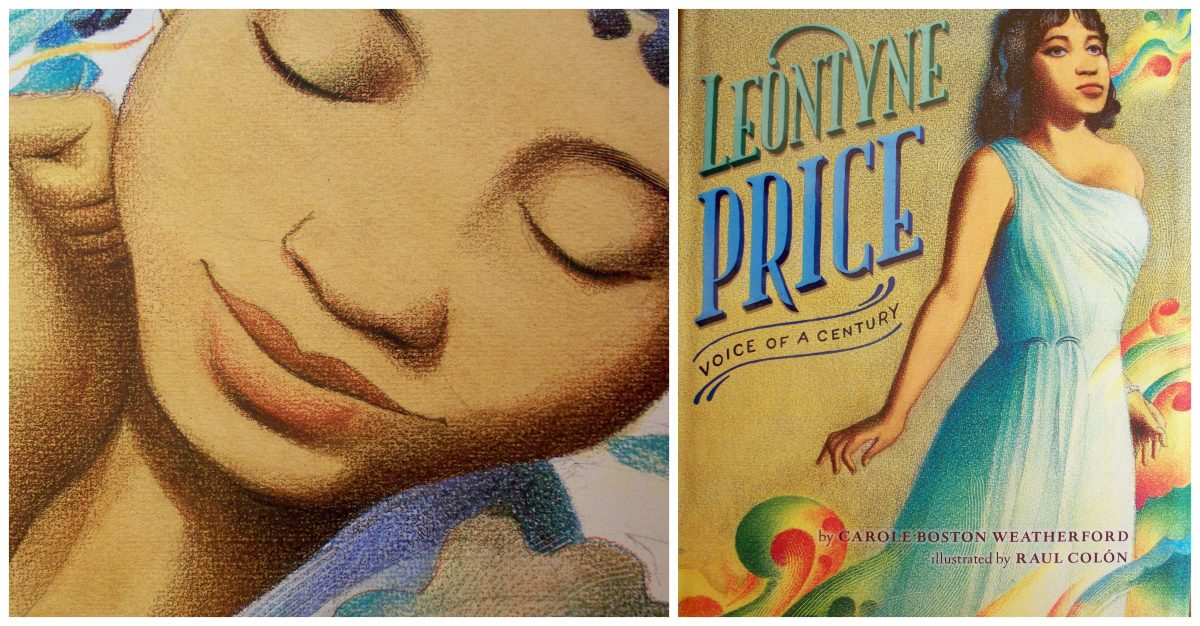 Leontyne Price Voice of A Century by Carole Boston Weatherford a Joy Makin' Mamas Review