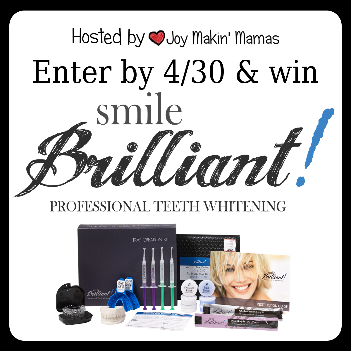 Smile Brilliant Review & #Giveaway ends 4/29
