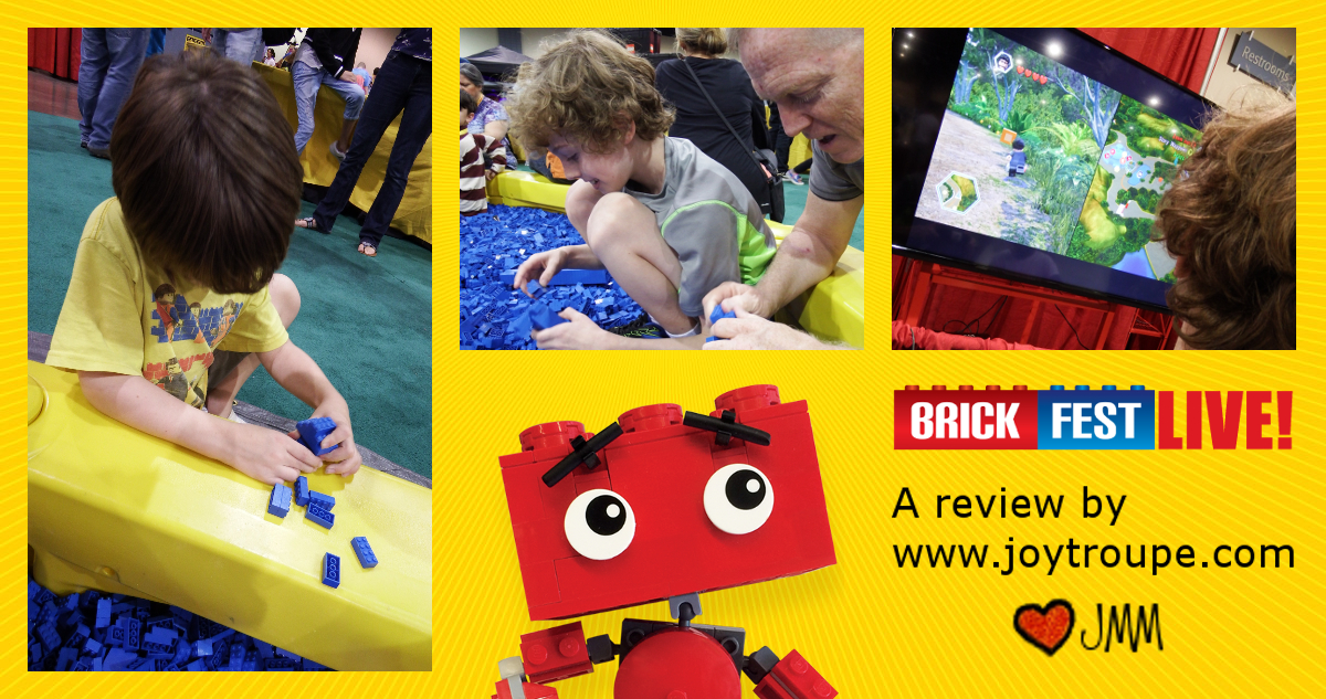 Lego BrickFest Live A Lego Fan Experience Sandbox and XBox stations 2017