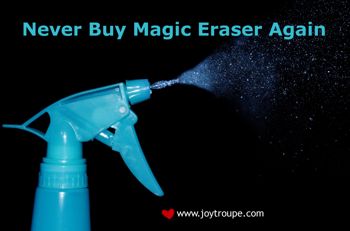 DIY Magic Eraser Liquid Recipe