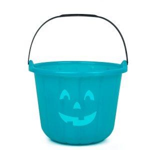 teal pumpkin treat bucket