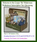Wilderness Walkabout giveaway ends 4/24